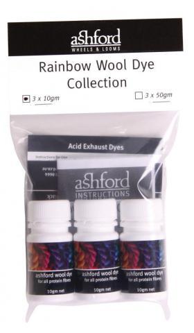 Rainbow Wool Dye Kit