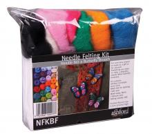 Needle Felting Kit - Butterfly Broach